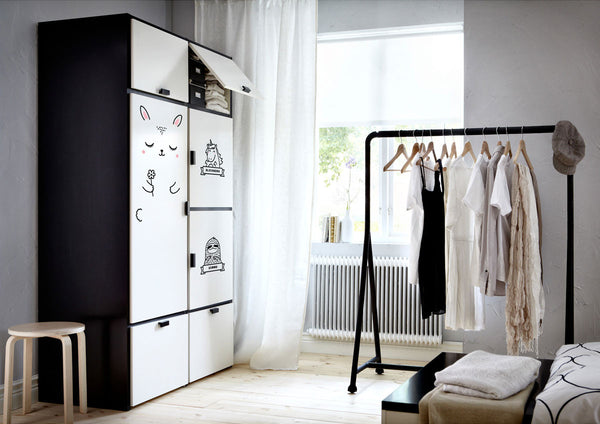 Ikea Armoire Odda. Best Armoire Suitable Shaker Style Bedroom Sets ...