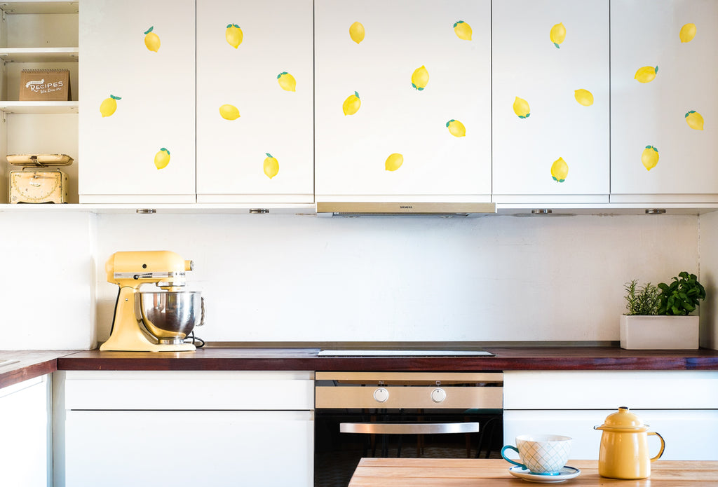 Decorate your kitchen with stickers