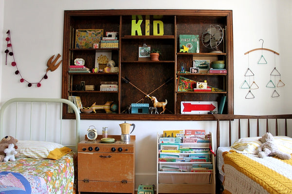 Vintage kids room by Smile and Wave | Made of Sundays