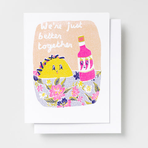 Valentines card by Yellow Owl Workshop