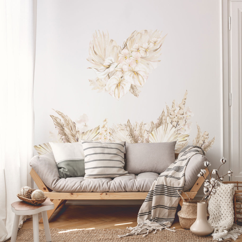 Boho Garden Wall Stickers