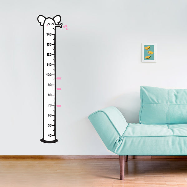 Height Chart, Elephant, wall decals by Made of Sundays