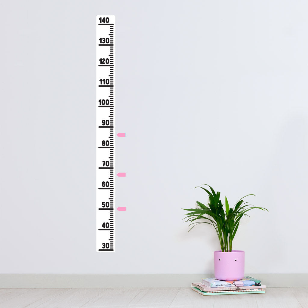 Height Chart, Minimalistic, wall decals by Made of Sundays