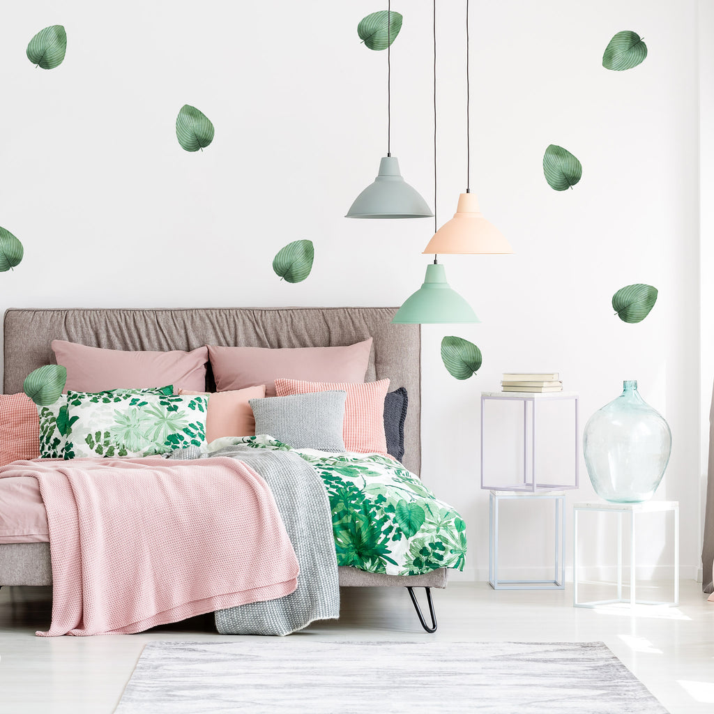 Ficus Leaves Wall Stickers, wall decals by Made of Sundays