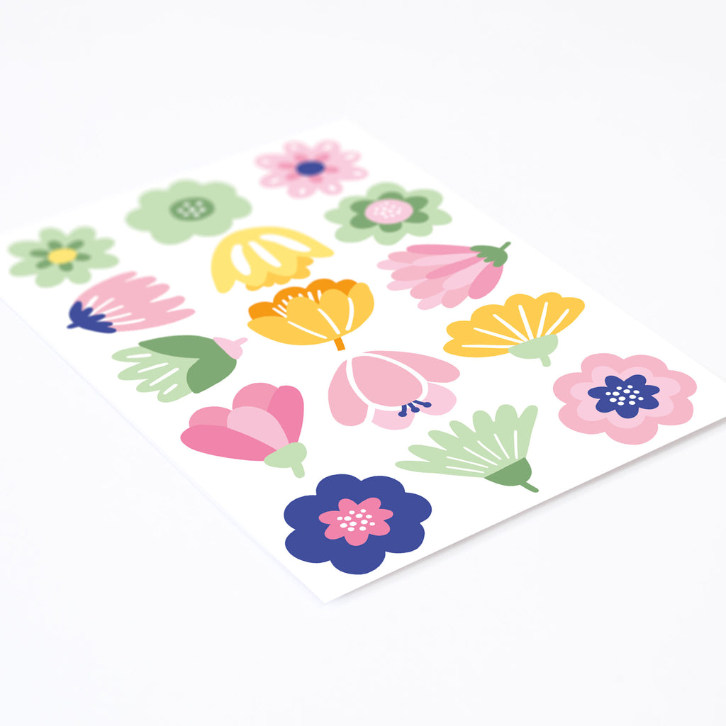 Midsummer Flowers, wall decals by Made of Sundays