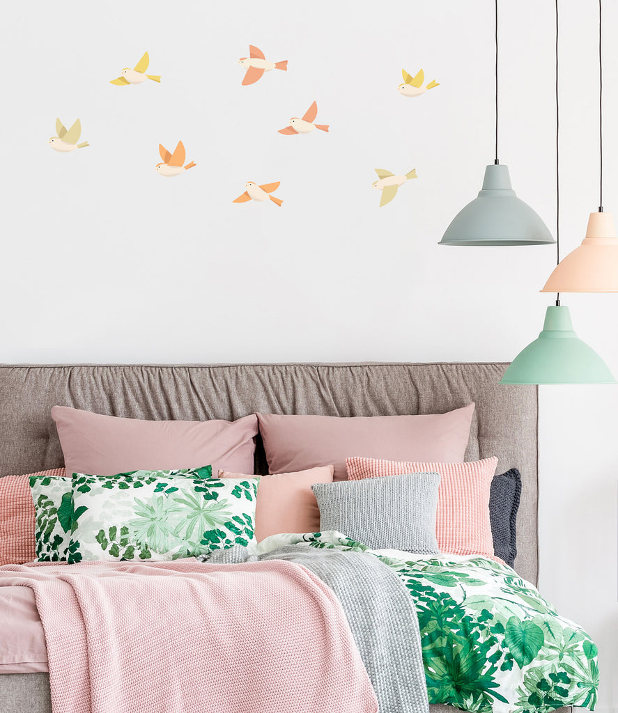 Forest Birds, wall decals by Made of Sundays