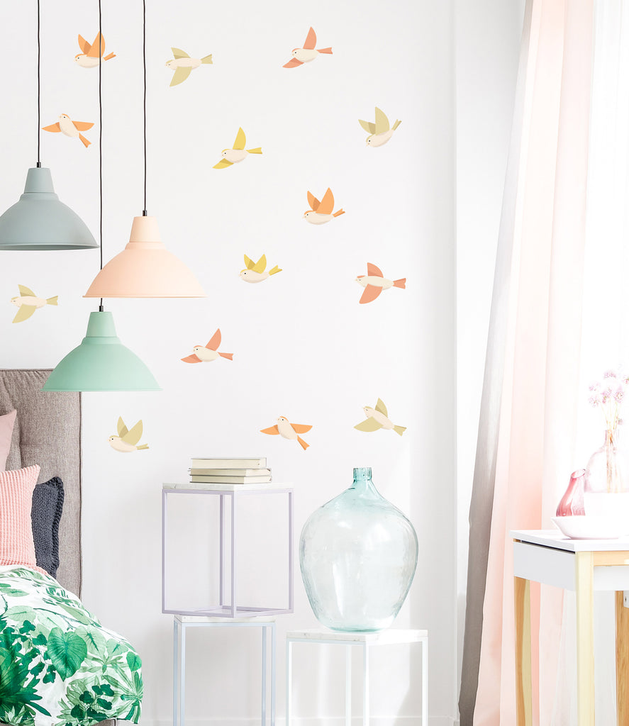 Forest Birds Wall Stickers, wall decals by Made of Sundays