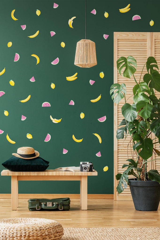 Fruit Wall Stickers Theme Pack, wall decals by Made of Sundays