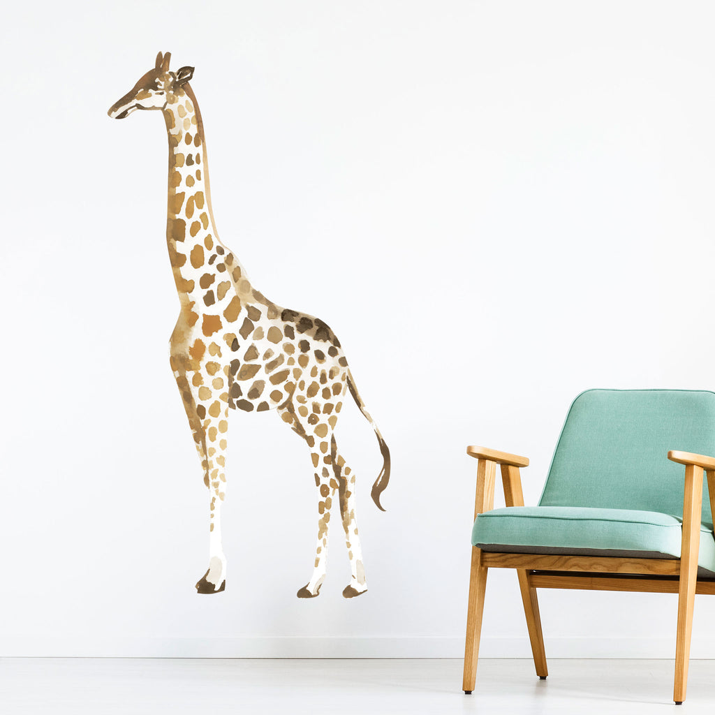 Savanna Giraffe Wall Sticker, wall decals by Made of Sundays