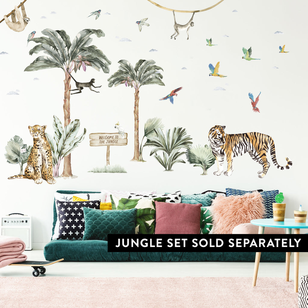 Jungle Sign Personalised Wall Sticker