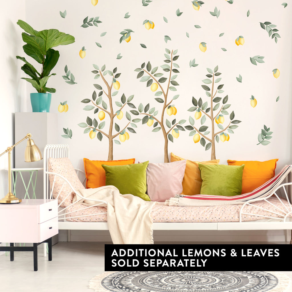 Small Lemon Trees Wall Stickers