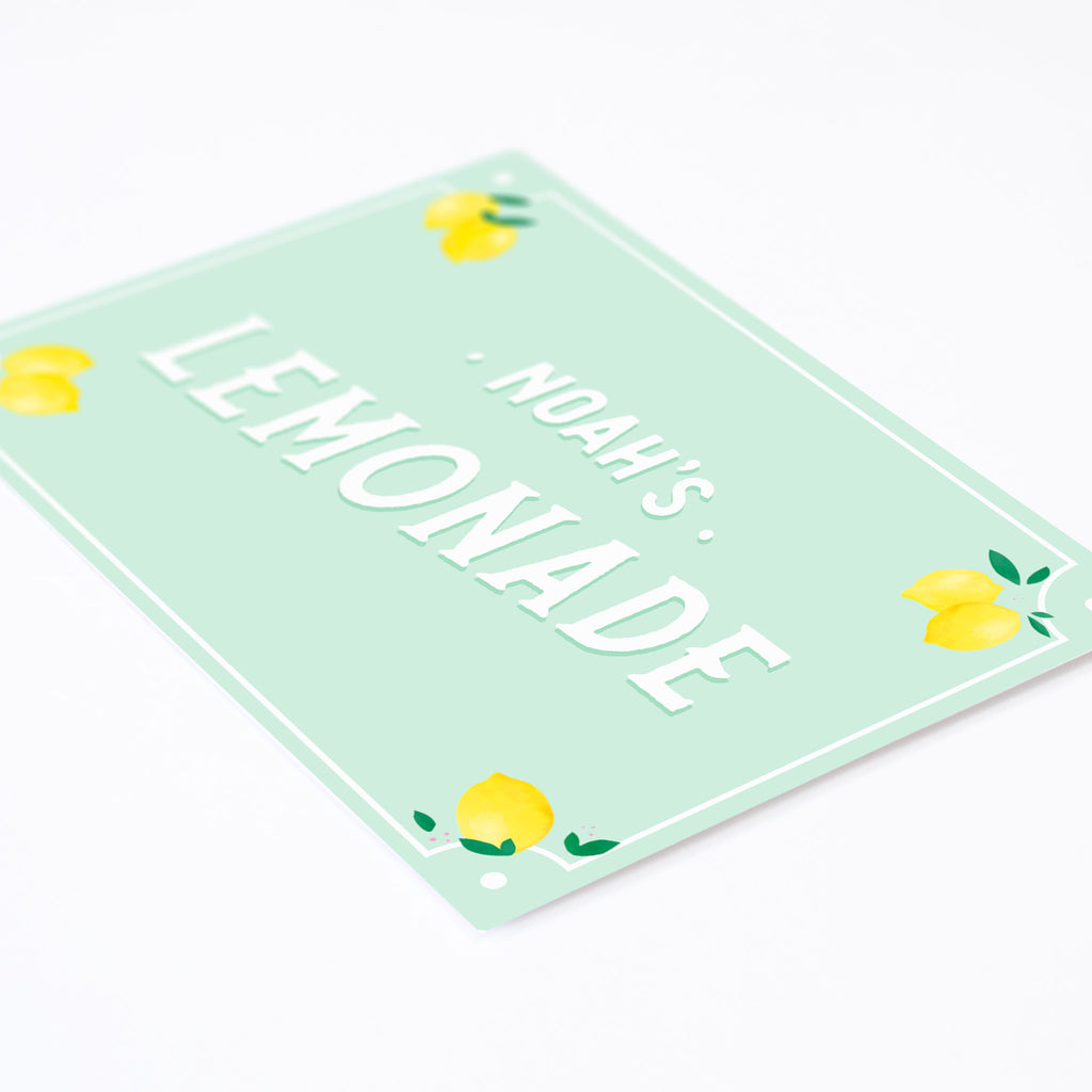 Name Wall Sticker - Lemonade, wall decals by Made of Sundays