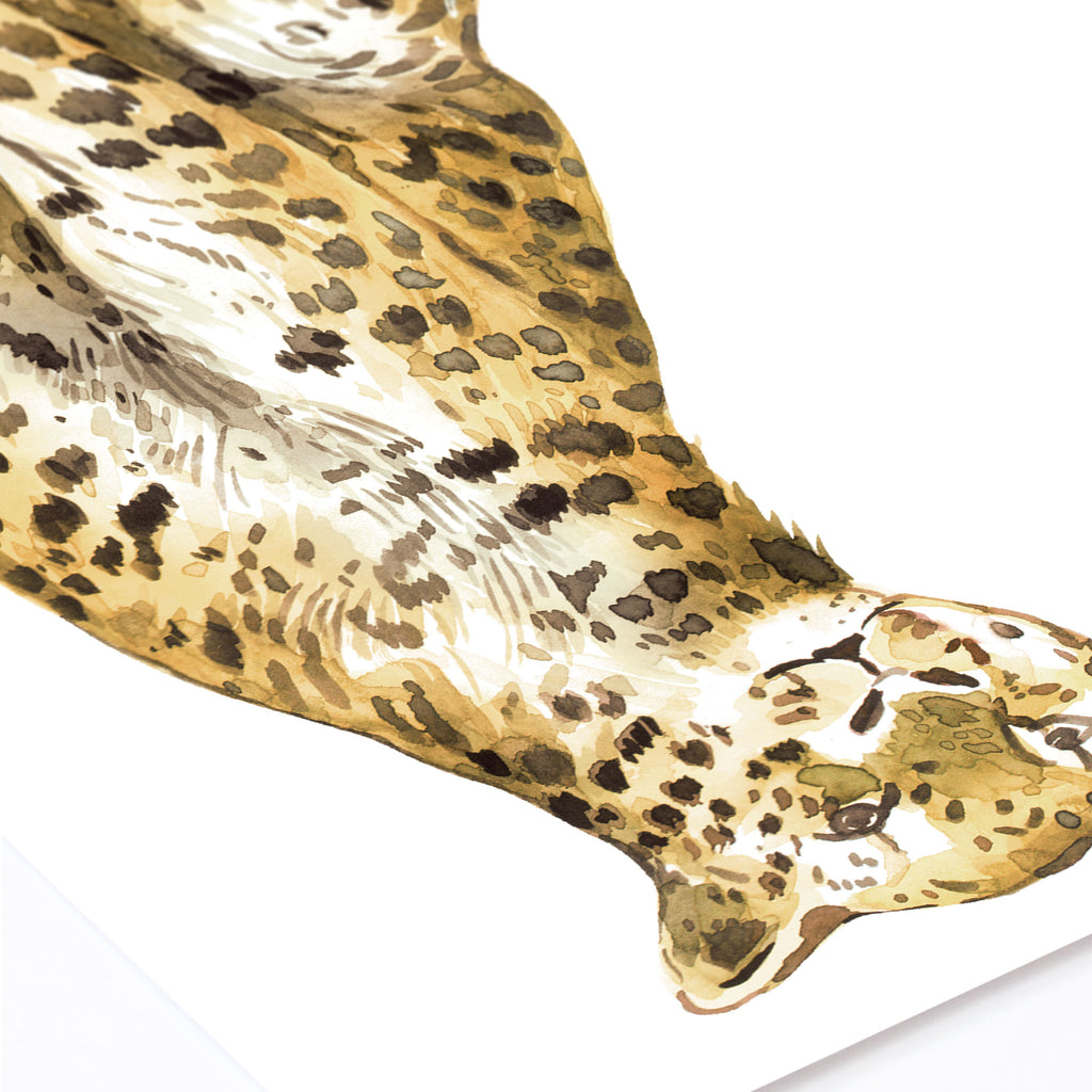 Jungle Leopard Wall Sticker, wall decals by Made of Sundays