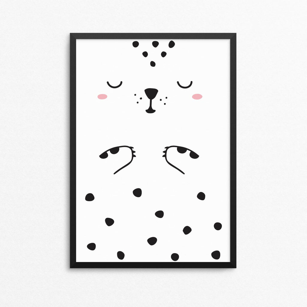 Luca the Leopard Poster, A3