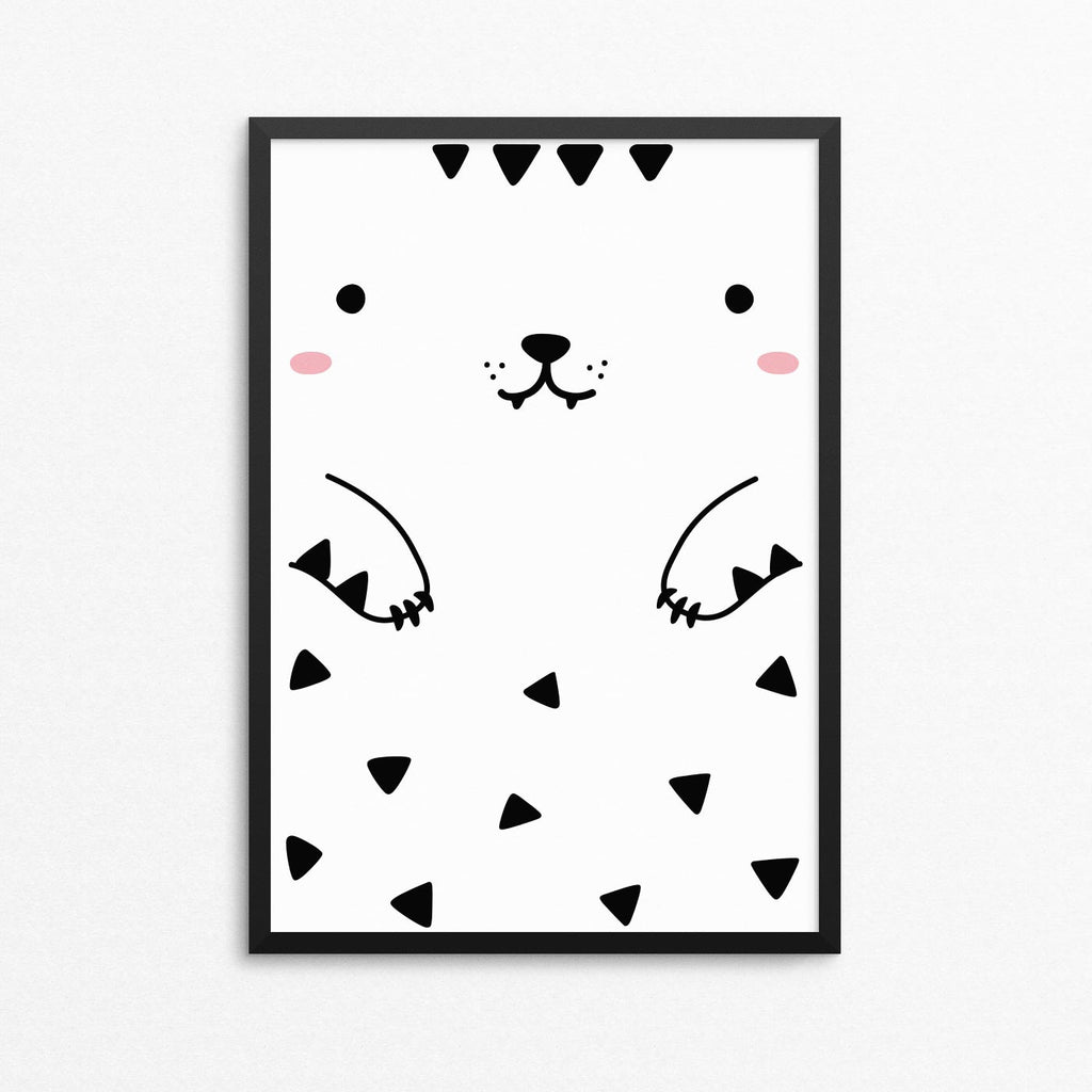 Tofu the Tiger Poster, A3 - Made of Sundays
