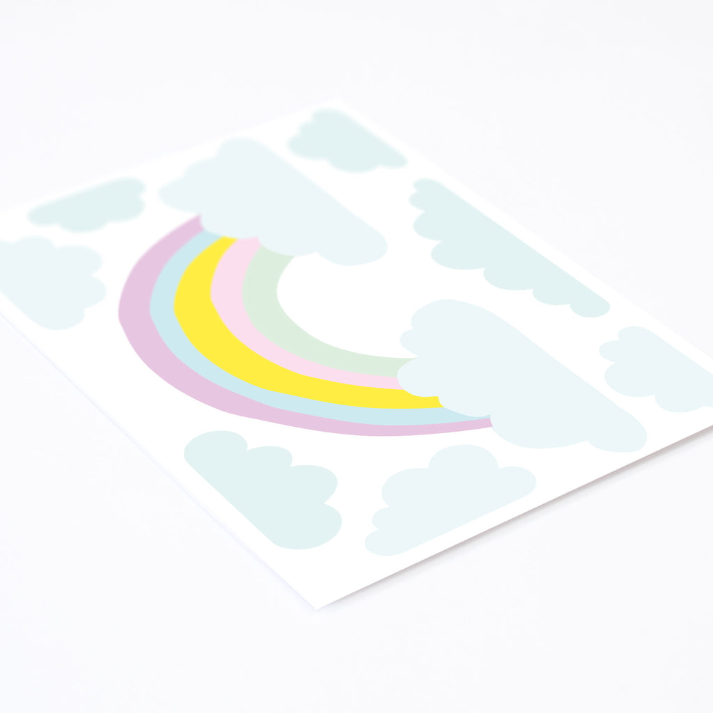 Cake Medium Rainbow Wall Stickers, wall decals by Made of Sundays