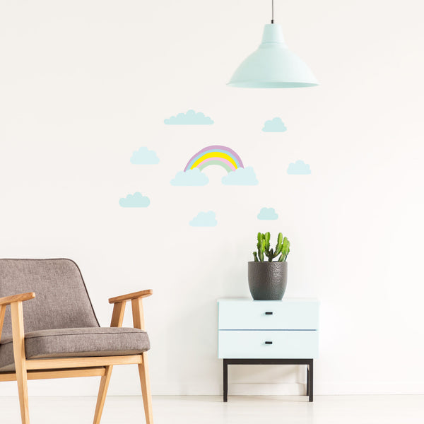 Cake Medium Rainbow, wall decals by Made of Sundays