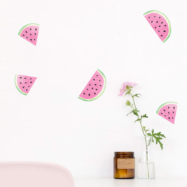 Watermelons, wall decals by Made of Sundays