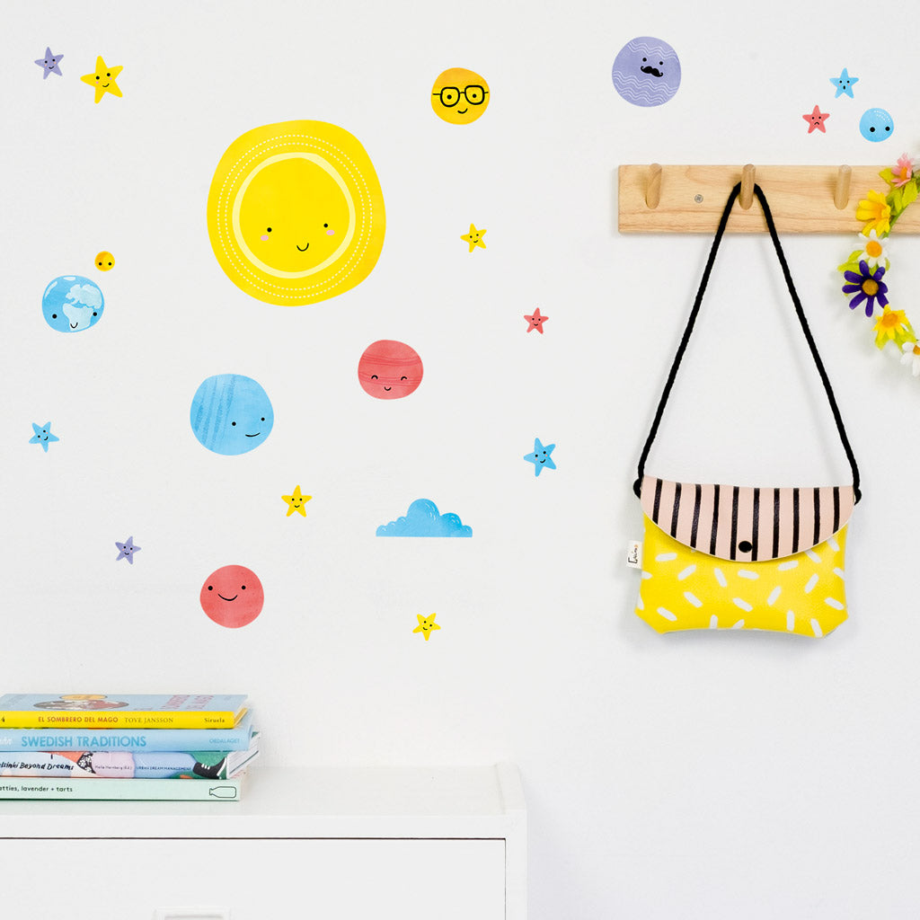 Small Solar System, wall decals by Made of Sundays