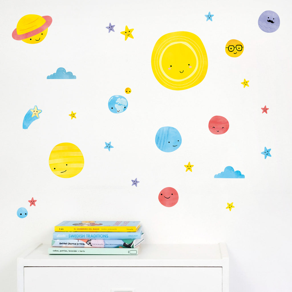 Solar System Stickers Part 75
