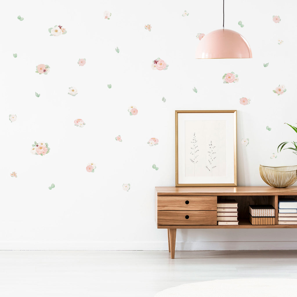 Spring Bloom Flowers, wall decals by Made of Sundays