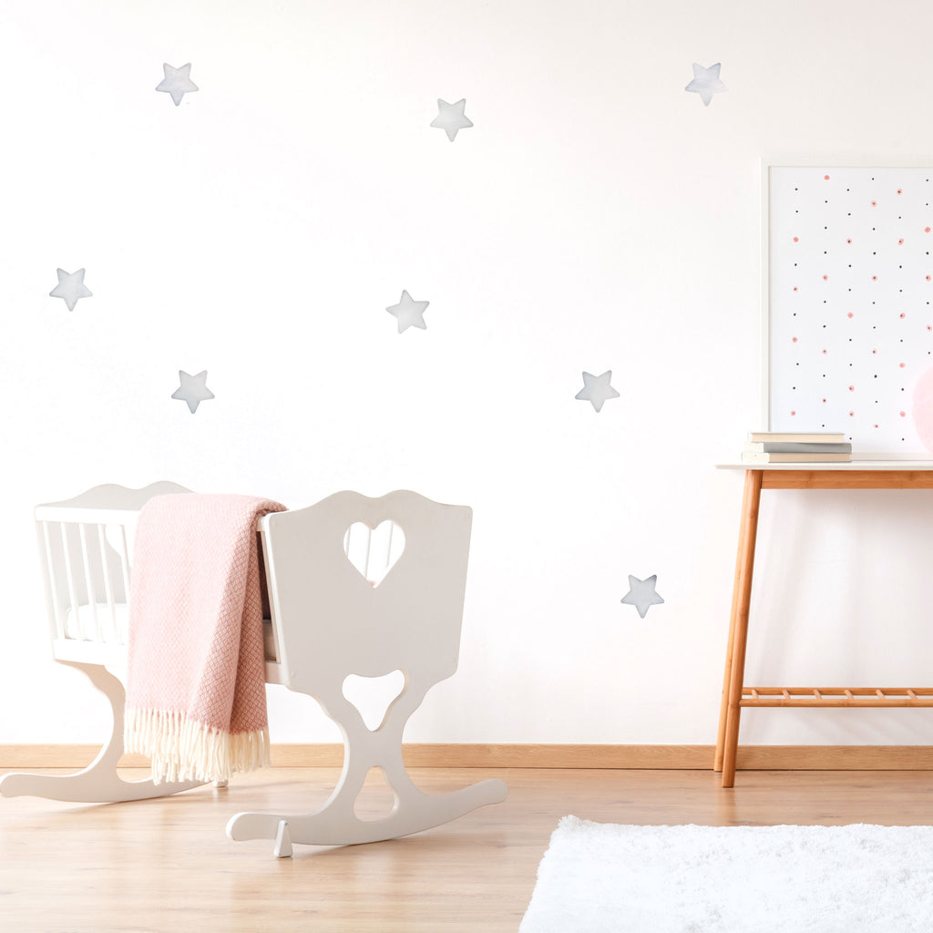 Arctic Big Stars, wall decals by Made of Sundays