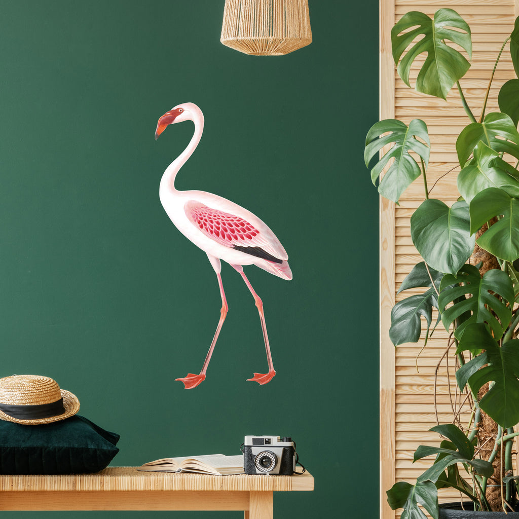 Vintage Flamingo Wall Sticker, wall decals by Made of Sundays