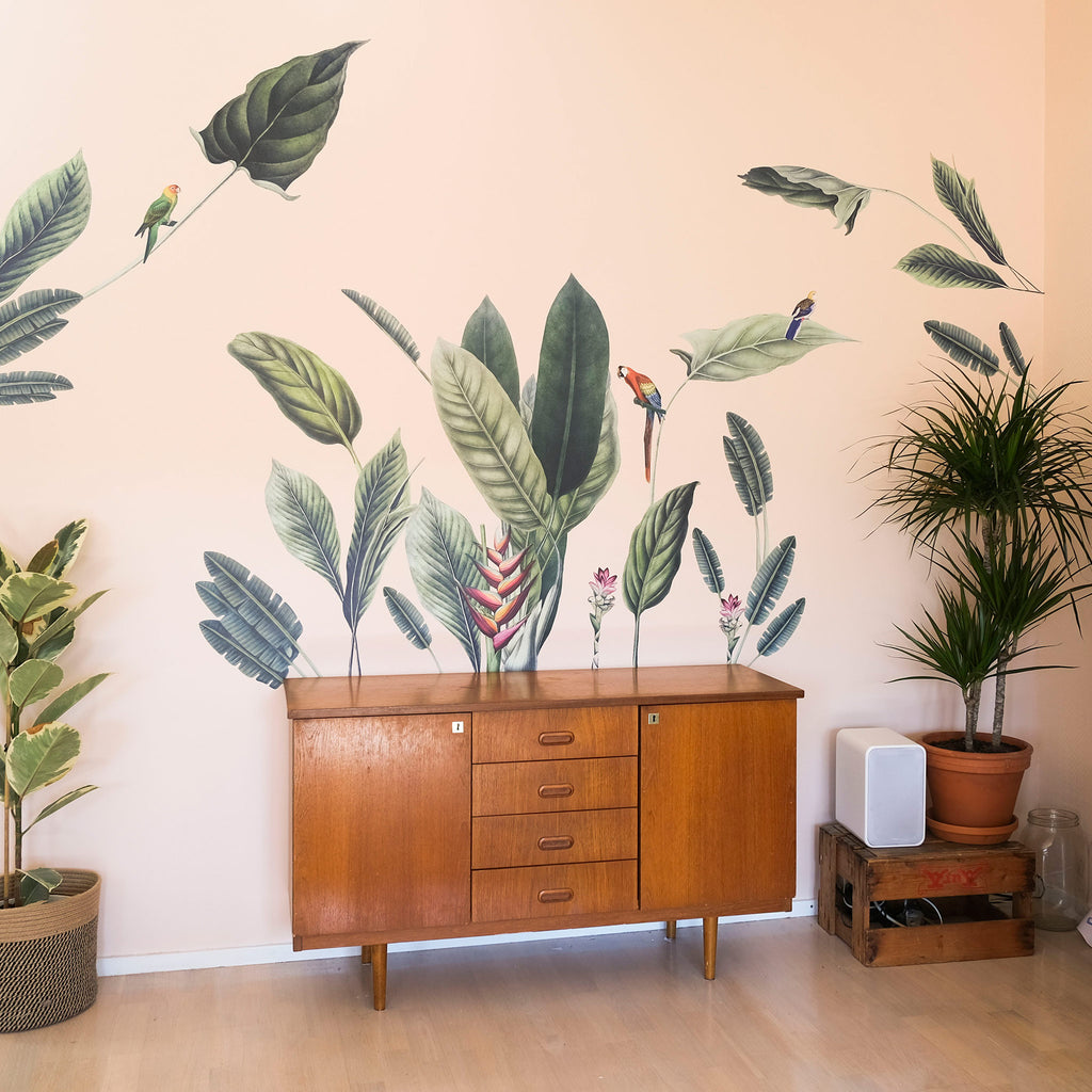 Vintage Tropical Jungle Theme Pack, wall decals by Made of Sundays