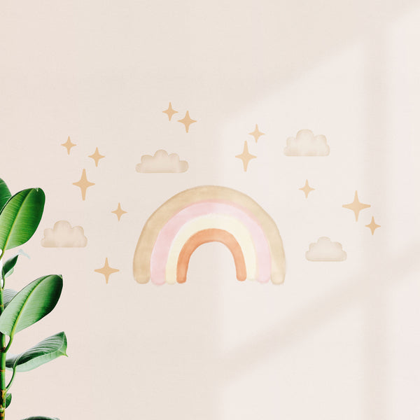 Boho Chic Medium Rainbow, wall decals by Made of Sundays