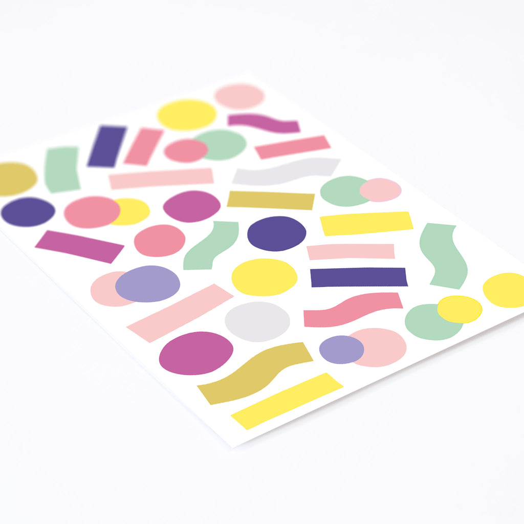 Pop Confetti, Wallpaper Sticker - Made of Sundays
