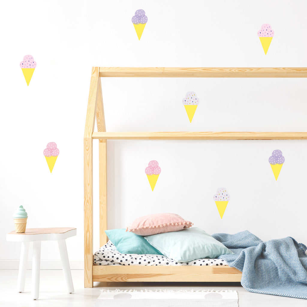 Pop Gelato Wall Stickers, wall decals by Made of Sundays