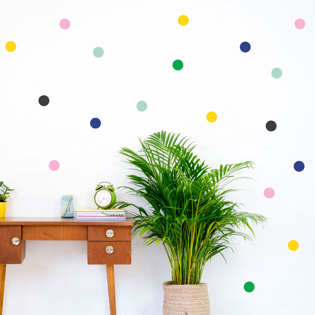 Polka Dot Mixes, 6 cm, wall decals by Made of Sundays