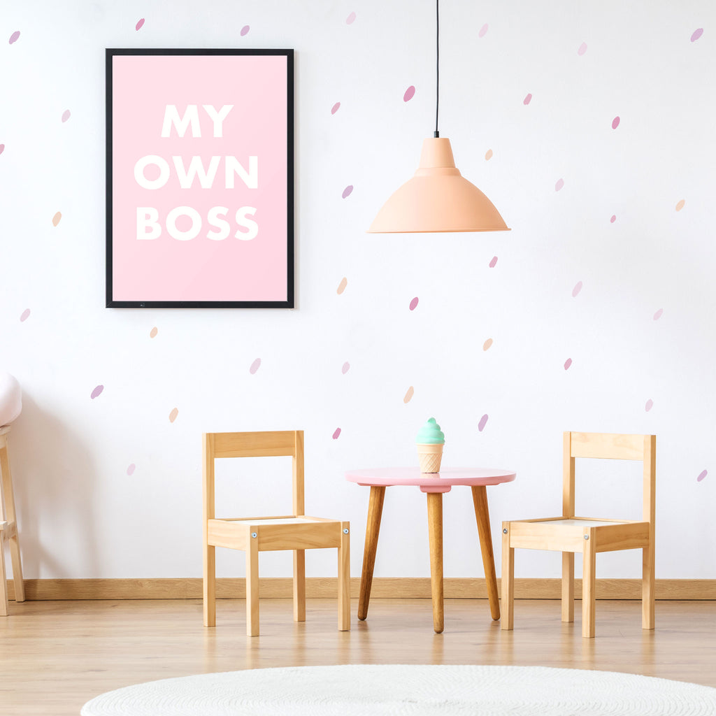 Wall Dashes, wall decals by Made of Sundays
