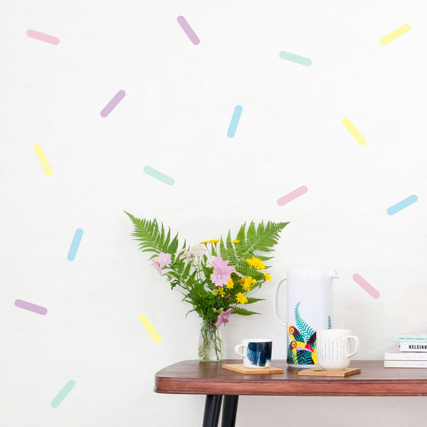 Wall Sprinkles Mixes, Wallpaper Sticker - Made of Sundays