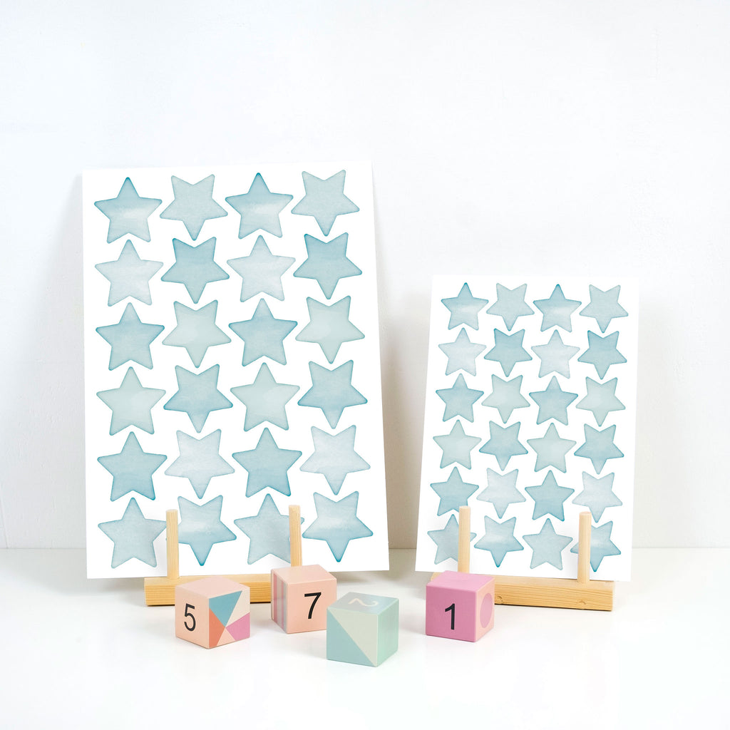 Arctic Big Stars Wall Stickers, wall decals by Made of Sundays