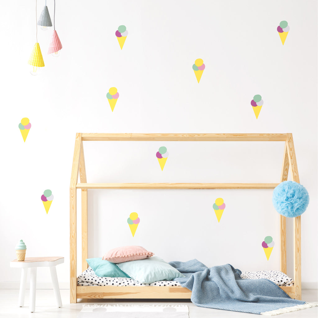 Pop Ice creams Wall Stickers, wall decals by Made of Sundays