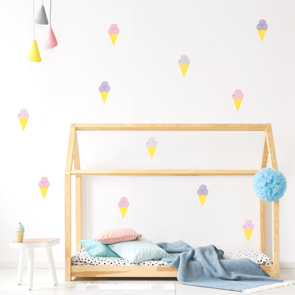 Pop Gelato, wall decals by Made of Sundays