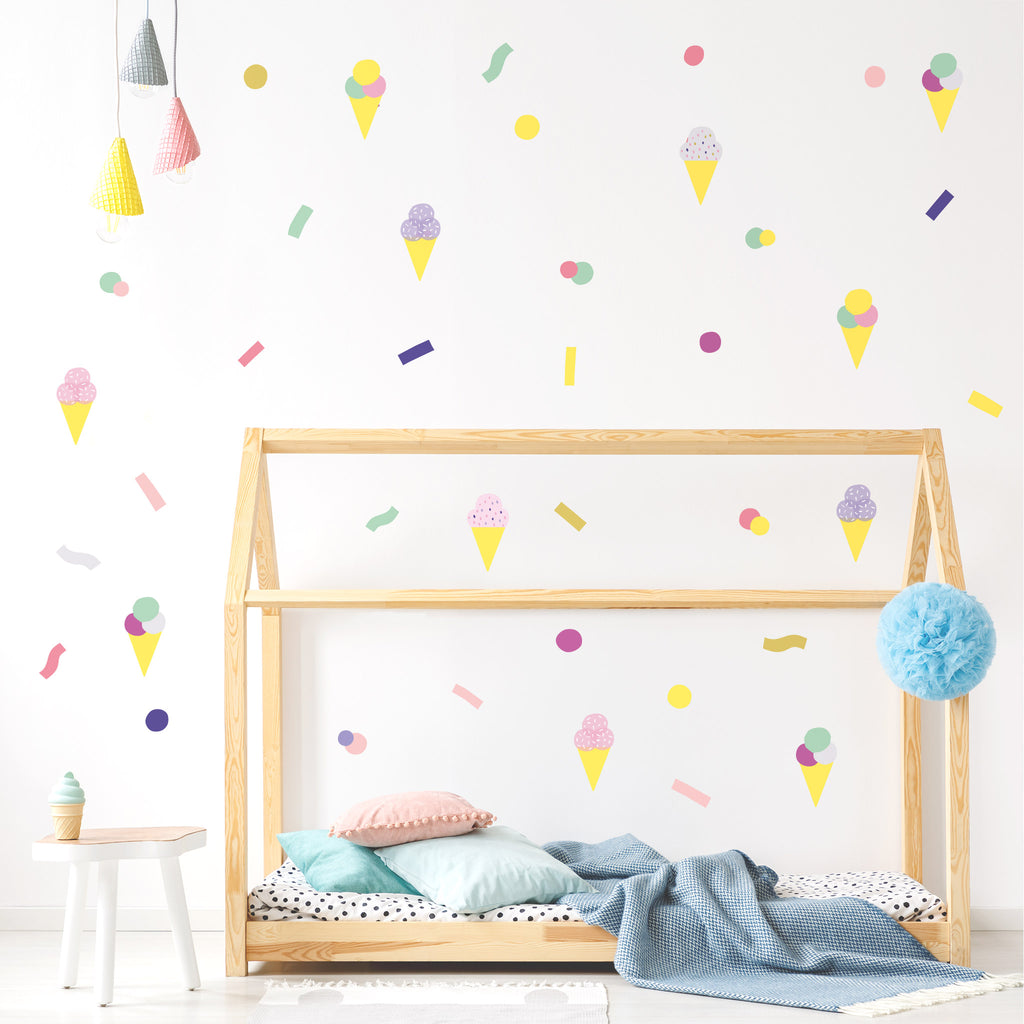 Pop Ice Cream Theme Pack, Wallpaper Sticker - Made of Sundays