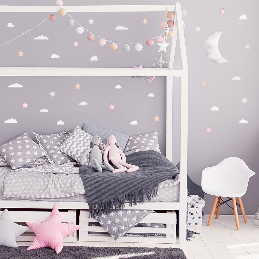Arctic Night Wall Stickers Theme Pack, wall decals by Made of Sundays