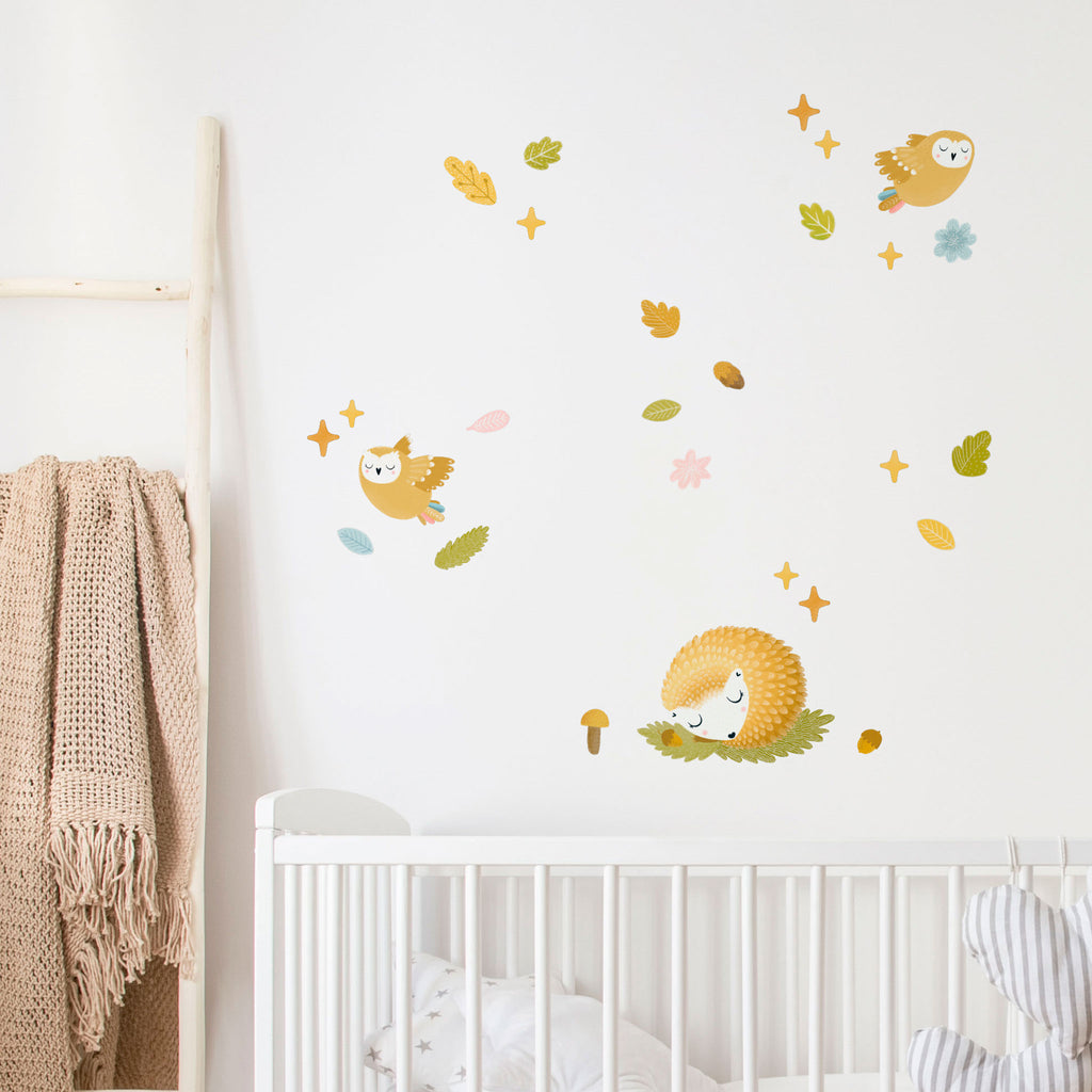 Woodland Animal Wall Stickers, wall decals by Made of Sundays