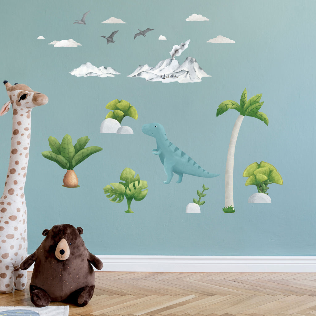 T-Rex Dinosaur Wall Sticker, wall decals by Made of Sundays