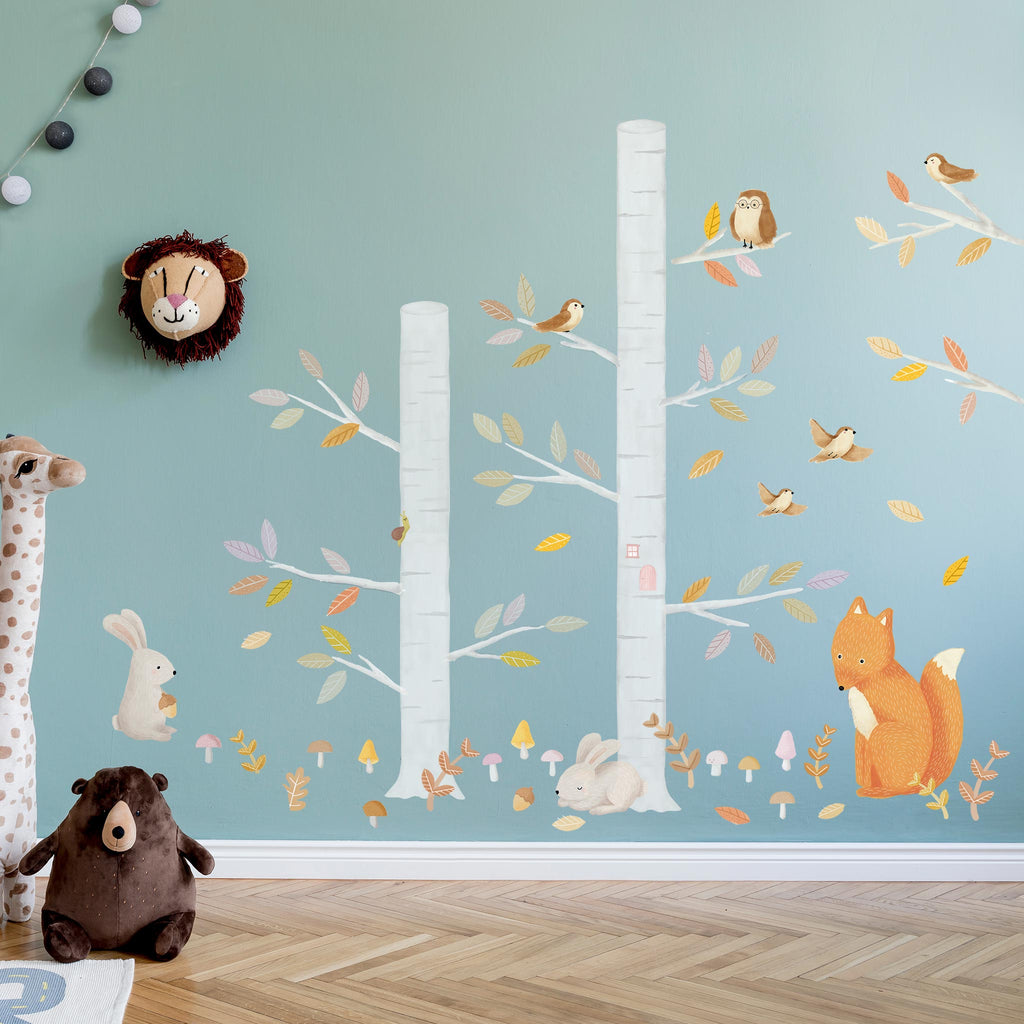 Woodland Forest & Animals Theme Pack, wall decals by Made of Sundays
