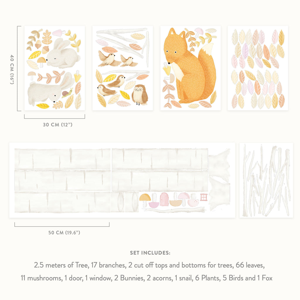 Woodland Forest & Animals Theme Pack
