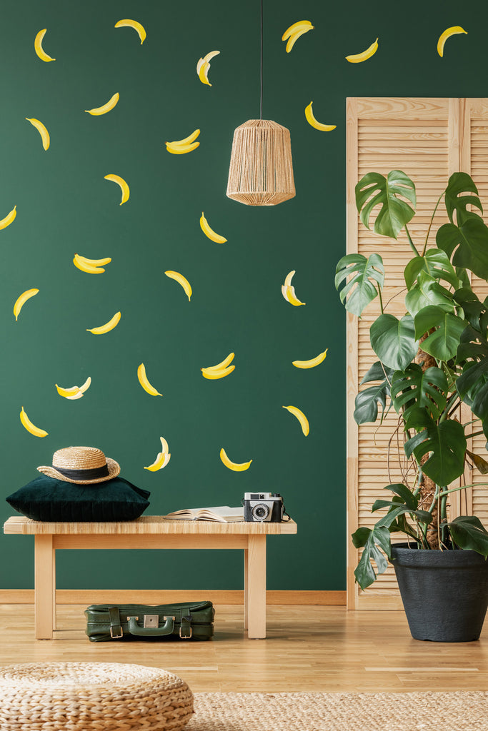 Banana Wall Stickers, wall decals by Made of Sundays