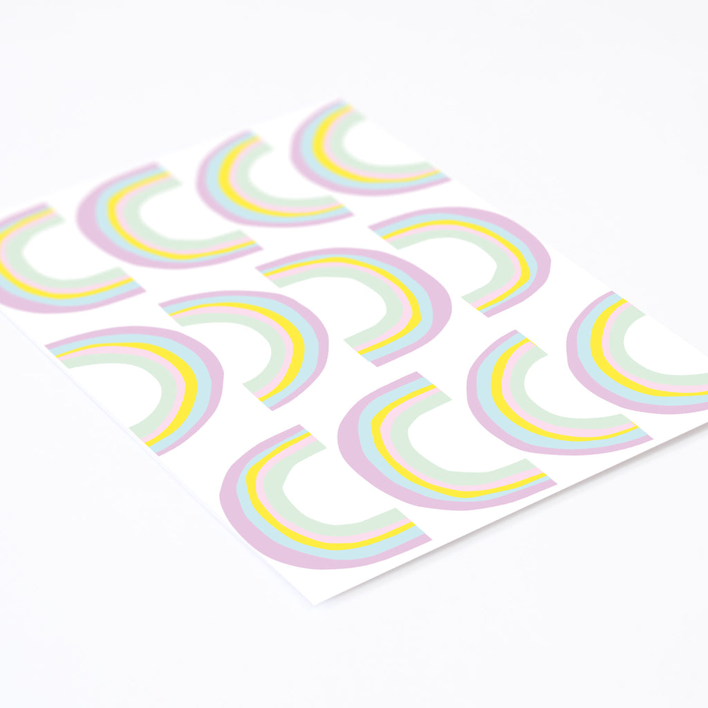 Cake Small Rainbows Wall Stickers, wall decals by Made of Sundays