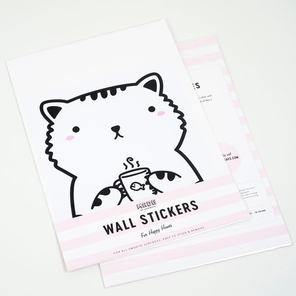 Sisi the Cat, Small, wall decals by Made of Sundays