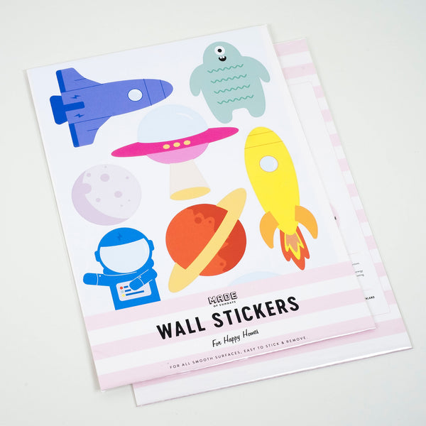 Space Stickers, wall decals by Made of Sundays