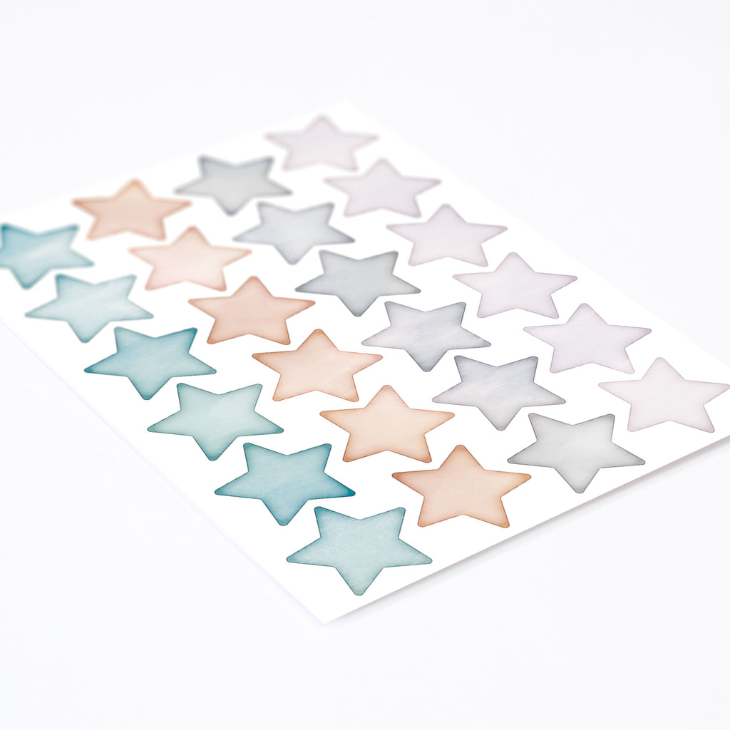 Arctic Small Star Mix Wall Stickers, wall decals by Made of Sundays