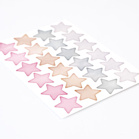 Small Star Mix, Wallpaper Sticker - Made of Sundays