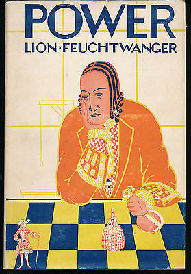 Power by Lion Feuchtwanger 1929 Edition in Dust Wrapper